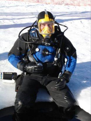 Florent M. LOCATELLI - Plongée sous glace Tignes 2